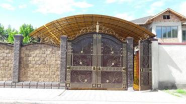 Навесы козырьки и все виды сварочных работ в Бишкек