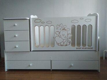 """Кроватка детская """"Алёнушка"""" - функциональная и стильная кровать-транс"""