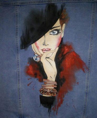 Профессиональная роспись на куртках и в Бишкек