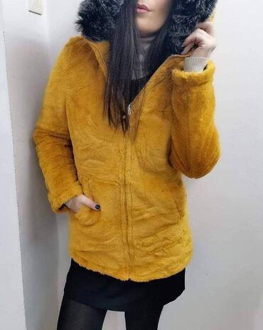 Astrahan bunda - Srbija: Zimska jakna 2 u 1, 4700din Velicine S do 2XL Jakna ima dva lica Može