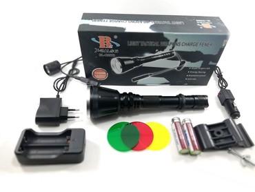 Sport i hobi - Bela Palanka: POLICE BL-Q2888-T6 Profesionalna lampa za lovCEO komplet + dodaci /