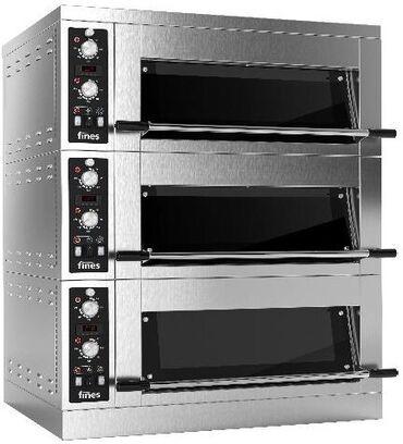 Техника для кухни - Кыргызстан: Печь подовая FINES FD68H 1/3-M с пароувлажнением