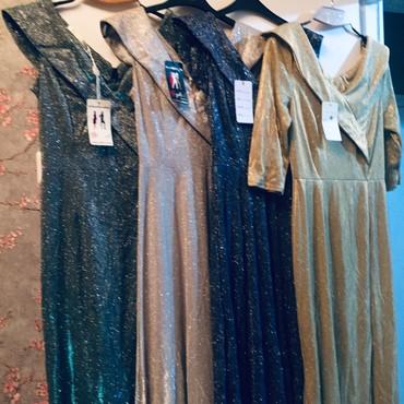 длинные вечерние платья с длинным рукавом в Кыргызстан: Срочно! В связи с ликвидацией товара! Продаю вечерние длинные в пол пл