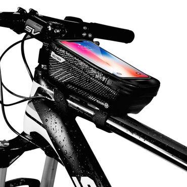 592 объявлений: Велосипедная сумка-чехол.• качество • бренд: Wild Man• объём: 1 литр •