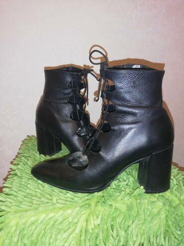 Продаю женскую обувь ботильон, состояние хорошее, надевала пару раз