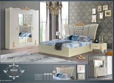 деревянная спальня в Азербайджан: Спальняя мебель. Сырьё из Турции. Производство местной фабрики