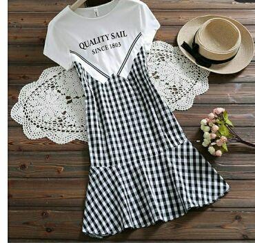 платья со штанами узбекские в Кыргызстан: Продаю платье новое,со скидкой !! Размер XL!! Ткань х/б!!