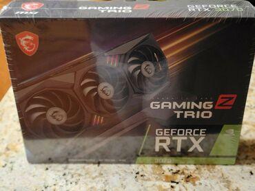 127 объявлений | ЭЛЕКТРОНИКА: Бренди нави MSI GeForce RTX 3070 Gaming Z Trio Graphics Card Ҳолати