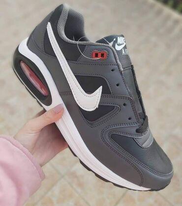 Poslednji brojevi na stanju :)Nike Air Max, crno-siveEko koza
