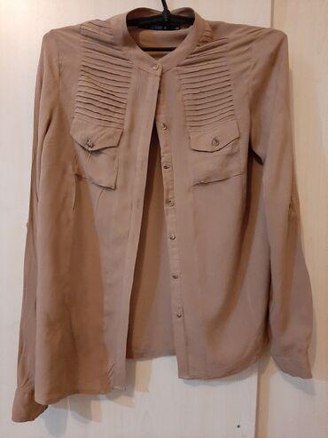женские кардиганы травка в Азербайджан: Женская рубашка 46 размер. Удобная и не просвечивает