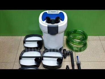 Внешний канистровый аквариумный фильтр sunsun hw-3000Мощность - 30