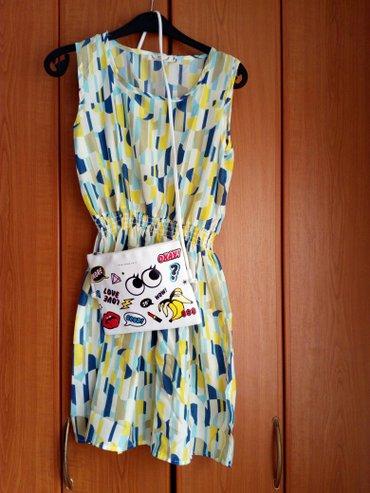 Nova haljina m velicina + nova torbica. Pojedinacno haljina 600, torbi - Beograd