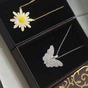 Gümüş boyunbağiQiymet-35aznHediyye qab+qutuMetrolara caddırılma925
