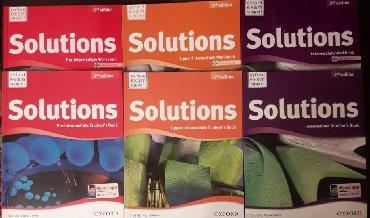 """женские ботинки из англии в Кыргызстан: """"Solutions"""", """"New English file"""" НОВЫЕ учебники англ.языка, комплект из"""