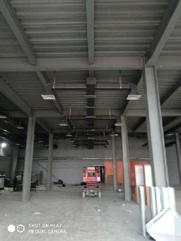 Вентиляция, Проектирование, изготовление и Монтаж воздуховодов, Опыт 1
