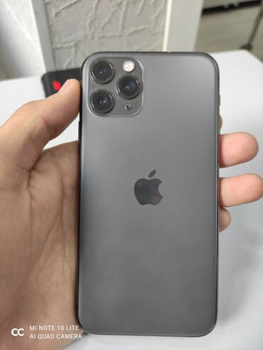 iphone 11 pro цена ош in Кыргызстан   APPLE IPHONE: IPhone 11 Pro   64 ГБ   Черный Б/У   Гарантия