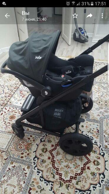 двойной адаптер для наушников в Кыргызстан: СРОЧНО! Продаём коляску и автолюльку Joie dlx,состояние идеальное