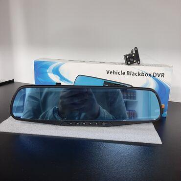 arxa fon - Azərbaycan: Videoqeydiyyatçi Vehicle Blackbox DVR, salonun arxa görünüş güzgüsü