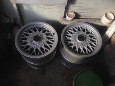 7,5j r15 диски мерседес vito w124 w210 w123 w126, или меняю на коробку в Бишкек