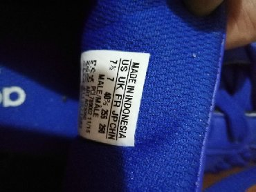 Patike adidas original jednom obucene bez ostecenja cena 3000 din