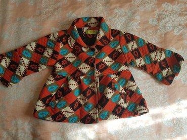 Теплое пальтишко для маленькой модницы. Примерно с 3-5 лет взависимост в Бишкек