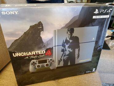 Playstation 4. Uncharted limit edition ps4 amerkadan alinan maldir