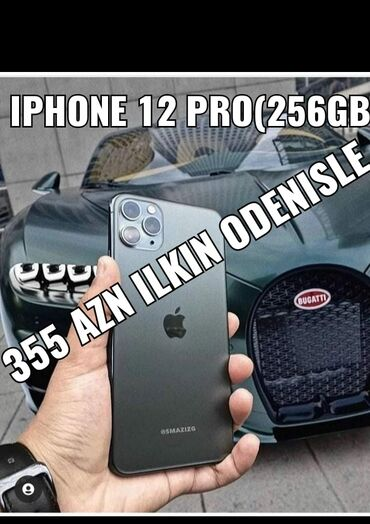 IPhone 12 Pro | 128 GB | Qara | Yeni | Zəmanət, Kredit