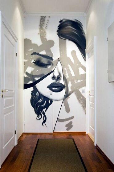 краска для стен бишкек в Кыргызстан: Услуги профессионального художника. Изумительный роспись стен. Обновит