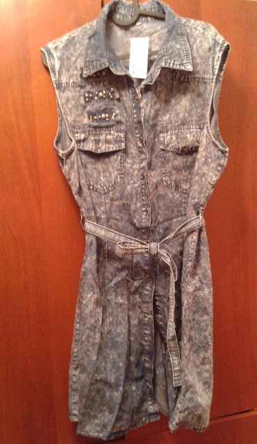 живопись маслом цветы в Кыргызстан: Новое платье (Израиль) цвет джинсовый