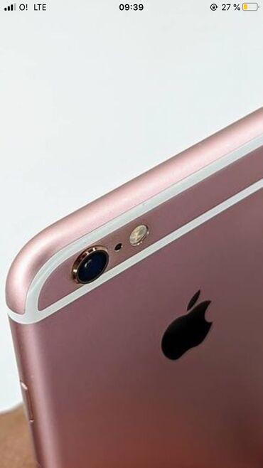 наушники jvc в Кыргызстан: Б/У iPhone 6s 64 ГБ Розовый