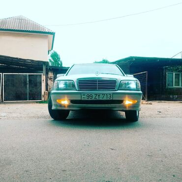 99 elan | NƏQLIYYAT: Mercedes-Benz 220 2.2 l. 1998 | 430000 km