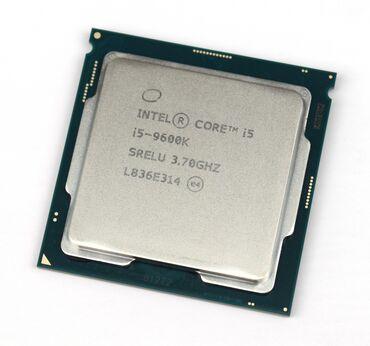 Core i5 9600k 4.5GHZ Turbo 1151v2 сокет- высокочастотный процессор