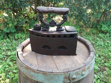Peci za grejanje - Sokobanja: Stara pegla na zar