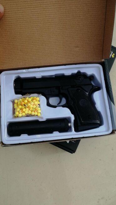 Игрушечные пистолеты корпус металл Стреляют пласт массовыми пульками