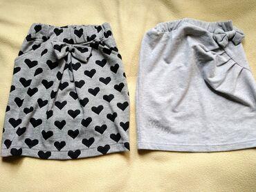 Dečija odeća i obuća - Zitorađa: Dve deblje suknjice,uzrast 6 godina,cena 500din,kao nove