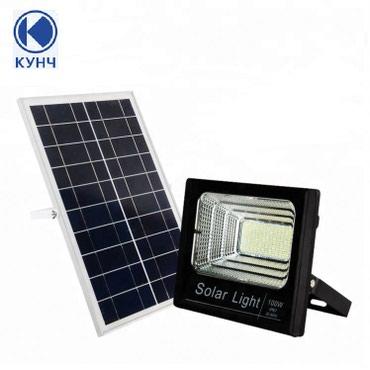 инверторы для солнечных батарей kostal в Кыргызстан: Прожектор на солнечных батареях 100W