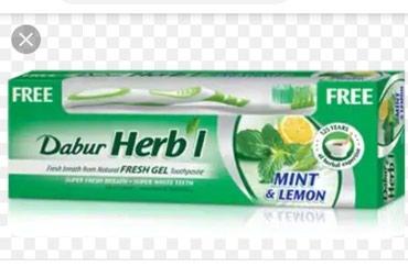 Bakı şəhərində Dabur herbal: dişlərin sağlam galması üçün çox effektiv