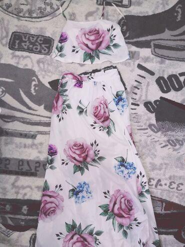 Ostalo   Sopot: Kompletic top i suknja, odgovara s i m velicini, novo nenoseno