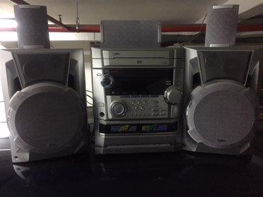 Lg linija velike snage, 5. 1, 5 zvucnika, 6 diskova cd sarzer, 2 - Beograd
