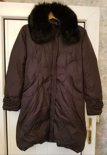 Куртка зимняя, пуховик, воротник в Бишкек