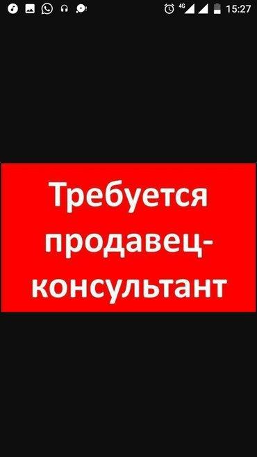 Срочно требуется продавец-консультант! График работы 5/2, с 10:00-18:0 в Бишкек