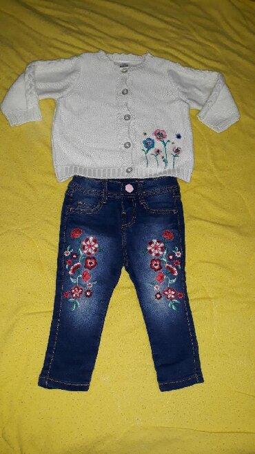 Ostala dečija odeća | Valjevo: Komplet za devojcicu, velicina 9 meseciMoze i za 12 meseci, ako dete