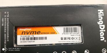 Жесткие диски, переносные винчестеры - Кыргызстан: NVME SSD 1 TB KINGDIANОчень быстрый ssd для работы, для игр!!!Прибыл