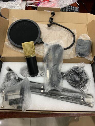 Mikrofon Condenser Microphone Professional MikrofonYoutuberler ve