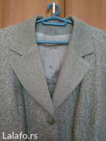 Zensko zimsko odelo sako i suknja vel 46 kao novo - Kraljevo