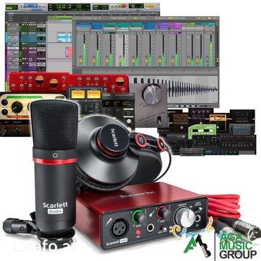 Bakı şəhərində Focusrite scarlet solo studio usb audio interface səs kartını aga