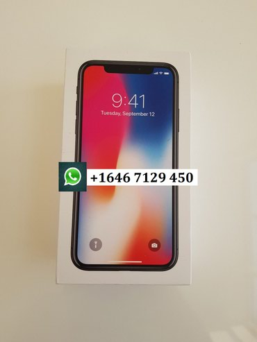 IPhone X 256gb brand new в Душанбе