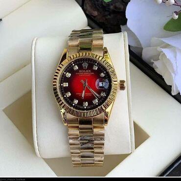 механизмы для ворот в Кыргызстан: Золотистые Женские Наручные часы Rolex