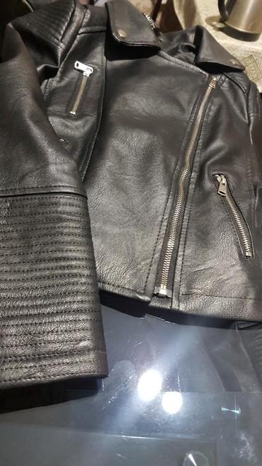 Продаю куртка эко косуха размер 44 на 46 в Лебединовка