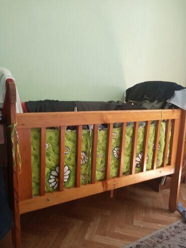 бу детские кроватки в Кыргызстан: Детская кроватка российское деревянное
